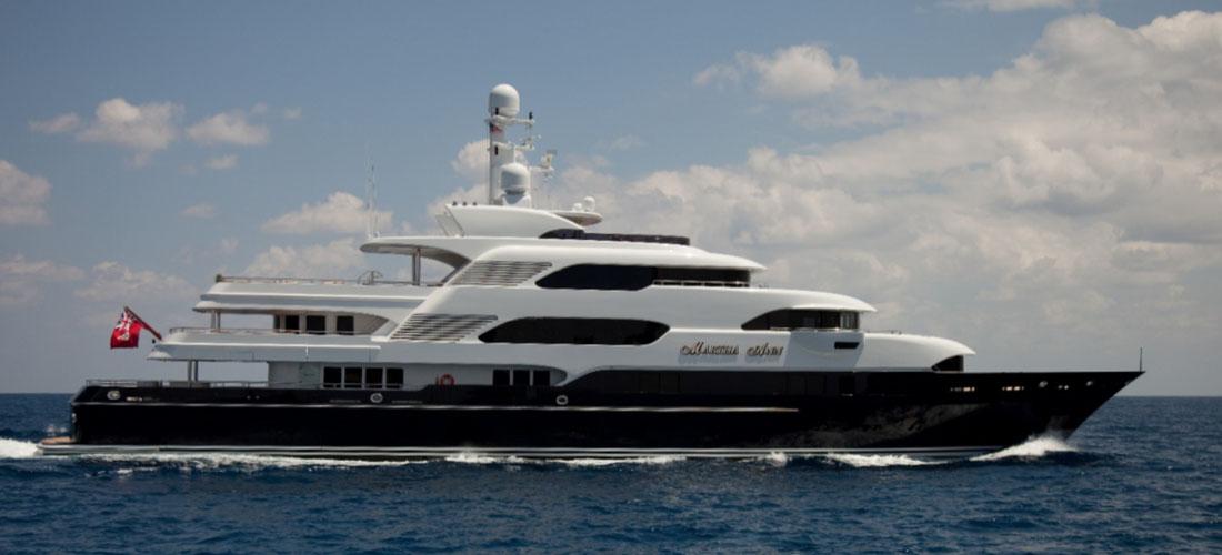Maldives yacht rental